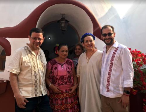 Zapoteca damnificada estrena casa tras sismo del 7S