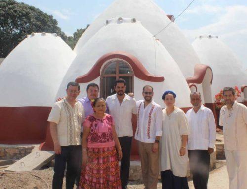 Casa antisísmica con diseño vanguardista construida en Ixtaltepec, Oaxaca